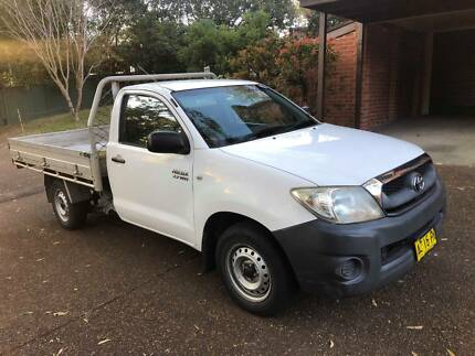 2008 Toyota Hilux Workmate Single Cab Manual 2.7 Petrol Normanhurst Hornsby Area Preview