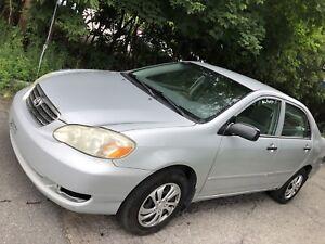 2005 Toyota Corolla manual