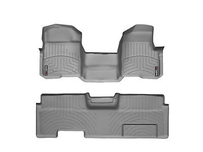 WeatherTech Floor Mat FloorLiner for Ford F-150 Ext. Cab OTH - 2010-2014 - Grey