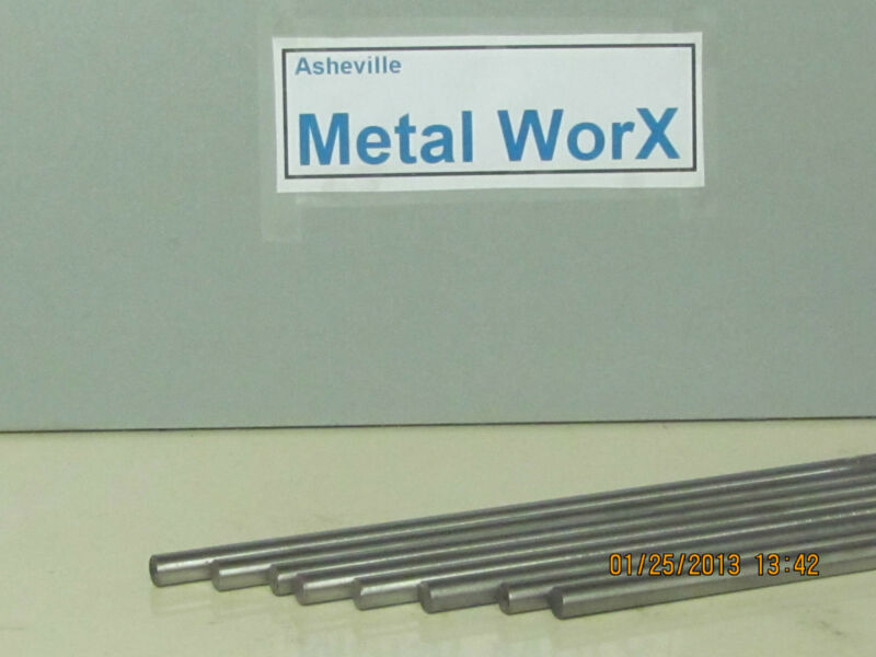 "10  MM   Steel Rod / Bar   Round  1144   GROUND & POLISHED  2 Pcs 12"" Long"
