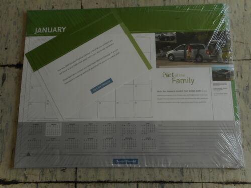 Chrysler Financial Desk Calendars (2) - Sealed In Original Packaging - 2009
