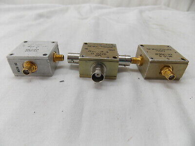 Mini Circuits Assorted Lot Rf Splitters Dividers 3 Pieces