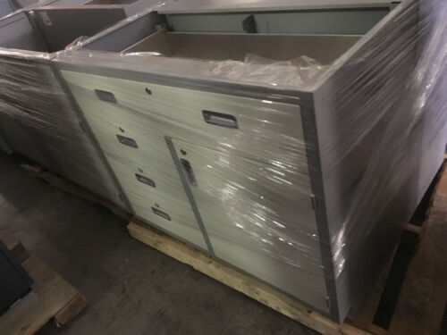 """A Condition Lab Bench Combo Casework 42""""x35""""x22"""" deep"""
