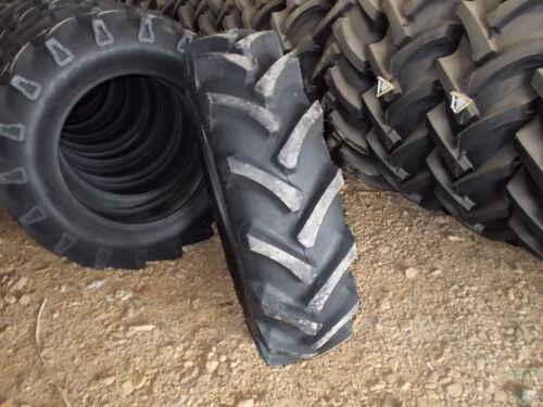 Two 11.2-24 8 ply R1 Tractor Tires