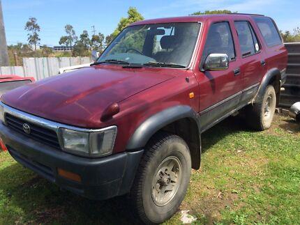 99 Hilux Surf Turbo Diesel - Unregistered Argenton Lake Macquarie Area Preview