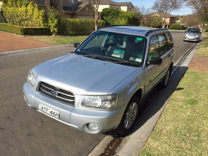 MY05 2005 Subaru Forester Wagon XS Luxury Pack Rouse Hill The Hills District Preview