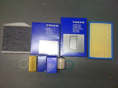 Genuine Volvo D5 Service Kit With Pollen Filter S60/V70/XC70/XC90/S80 D5