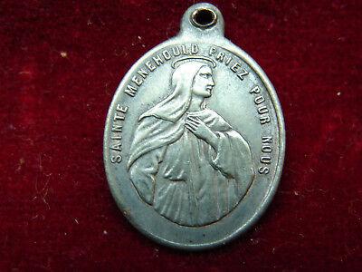 Jolie Antique Medal Sainte Ménehould, Bienville