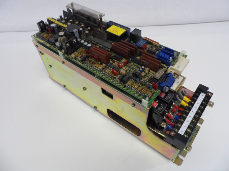 Fanuc Velocity Control Unit A06b-6050-h303 , Working Condition.