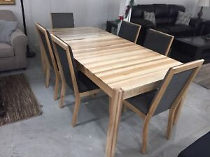 100% Solid Wood table made in canada !