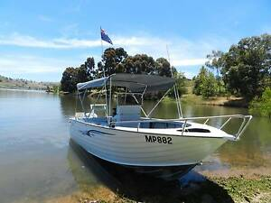 Boat, 6.1 SeaJay Haven Centre console, 5mm hull, 135hp Honda Wodonga Wodonga Area Preview