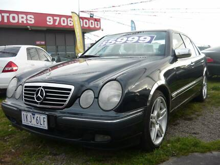 2000 MERCEDES E280 GREAT EXAMPLE*RENT TO OWN OR FINANCE FROM $32 Seaford Frankston Area Preview