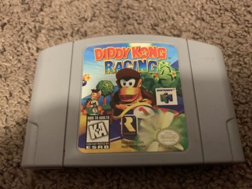 Diddy Kong Racing N64 Nintendo 64 Game Cartridge Only Authentic Tested - $25.99