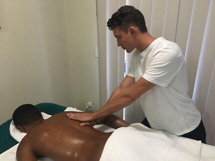 Male full body massage brisbane