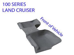Moulded rubber vinyl floor front toyota land cruiser 100 for 100 series land cruiser floor mats