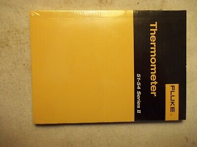 New Fluke Thermometer Manual Series Users Manual For 51-54 Series Ii Instument