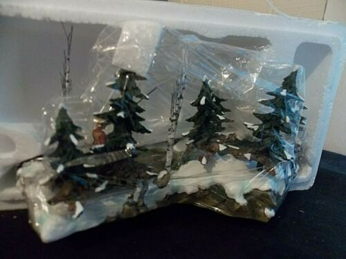 Dept. 56 Christmas Village Mill Creek Accessory The Trout Stream