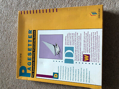 Commodore Amiga Game - Pagesetter