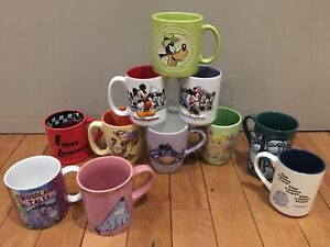 11 Disney Mugs