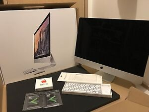 "iMac 27"" 5K Retina (Late 2014) 32GB RAM 1TB Fusion Applecare+Box Wantirna South Knox Area Preview"