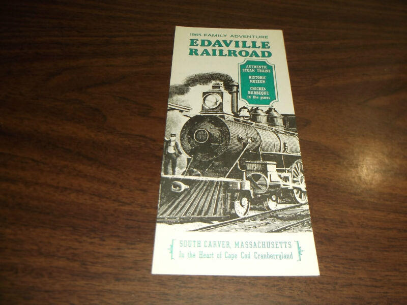 1965 EDAVILLE RAILROAD TIMETABLE AND BROCHURE