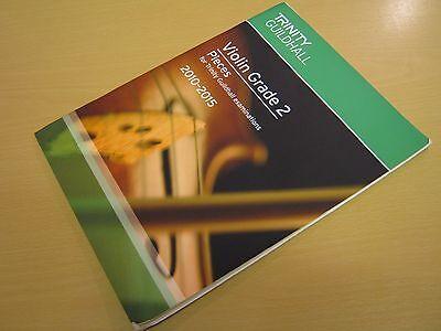 Trinity Guildhall Violin Grade 2 Pieces (for Trinity Guildhall exams) 2010-2015