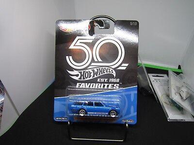 2018 Hot Wheels 50TH ANNIVERSARY 50 FAVORITES '71 Datsun Bluebird 510 Wagon 5/10