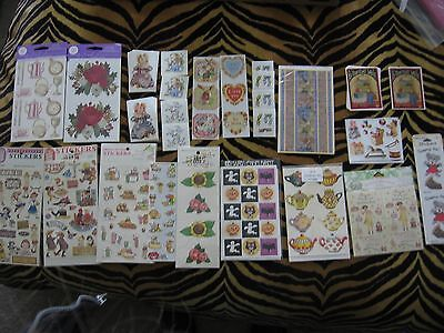 Stickers Gifted Line Vtg Roses Tea Set PSX Mary Engelbreit Easter Halloween doll
