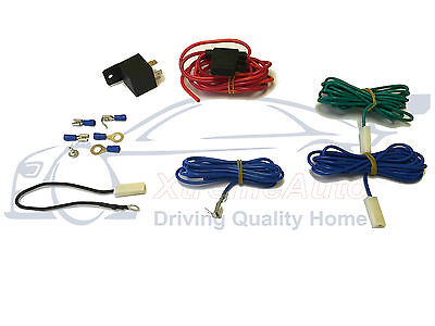 Universal Spotlamps, Foglight Wiring Kit Loom. 12v: Fused, Relay, Terminals