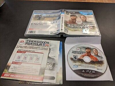 Tiger Woods PGA Tour 14 (Sony PlayStation 3, 2013) PS3 - Free Shipping