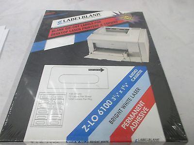 label blank blank die cut labels for desktop laser printer and copiers WH#82 ()