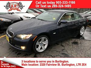 2008 BMW 3 Series 335i, Automatic, Leather, Convertible, 45000km