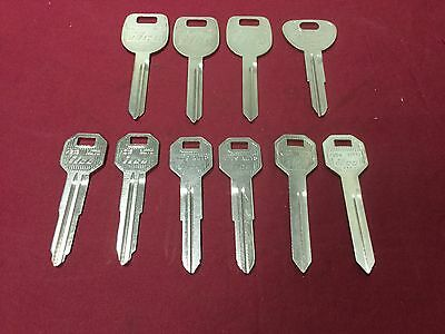 Mitsubishi By Ilco Automotive Key Blanks Set Of 10 - Locksmith