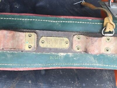 Bell Systems Semi-floating Linemans Body Belt Size Large 34-38