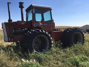 1805 Massey 4 wheel drive tractor with good tires