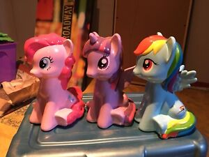 3 banque my little pony
