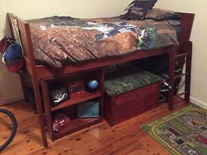 Single Loft Timber Bedroom Suite Branxton Singleton Area Preview