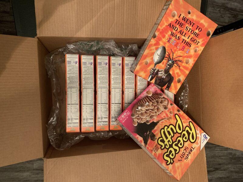 Travis Scott X Reeses Puffs Cereal RARE