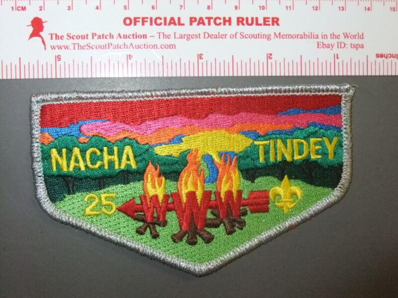 Boy Scout OA 25 Nacha Tindey flap 0580DD
