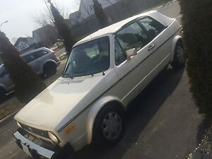 1983 vw rabbit automatic (sell or trade for a motorcycle)