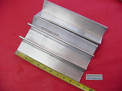 4 Pieces 2x 2x 14 Aluminum 6061 Angle Bar 10 Long T6 Extruded Mill Stock