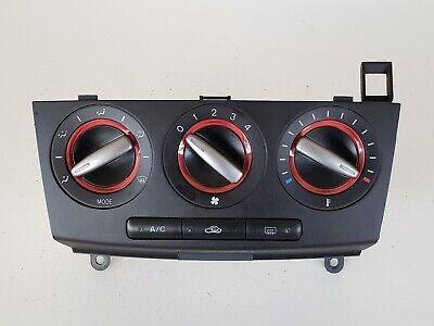 07 08 09 Mazda 3 Climate Control Panel Temperature Unit A/C Heater