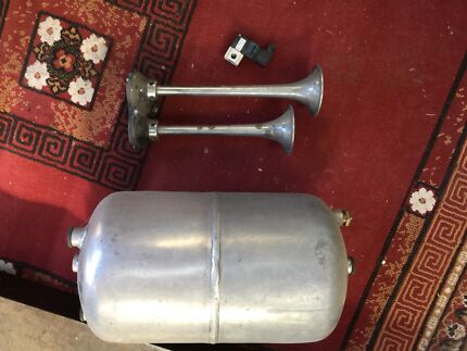 Grover Dual Air Horns 14&16inch chrome