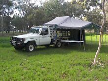 Toyota LandCruiser 4.2L diesel 4x4 Ute+slide on camper. Stepney Norwood Area Preview