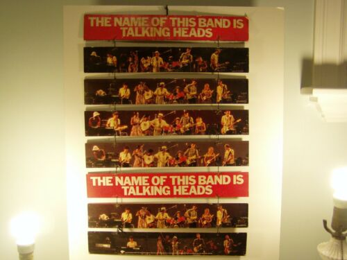 The Name Of This Band Is Talking Heads  Hanging Promotional Store Display