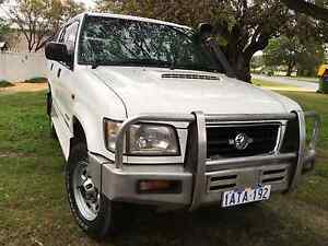 2000 Holden Jackaroo 3.0 Turbo Diesel 5 Speed Manual 4x4 Cottesloe Cottesloe Area Preview