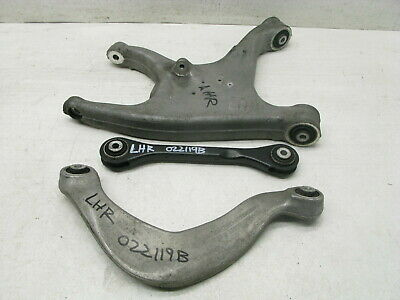 08-17 AUDI 8T A5 S5 REAR LEFT DRIVER SUSPENSION CONTROL ARM OEM SET 022119B