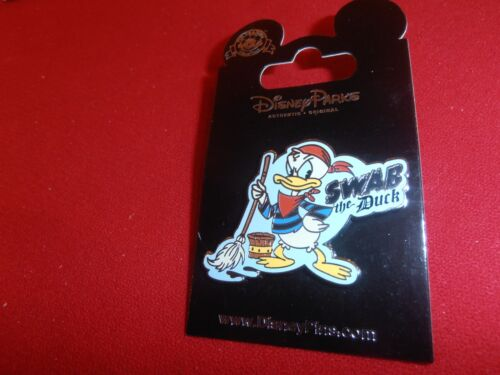 1 Disney Pin Donald  Duck  Swab the Duck.  As Seen Lot R