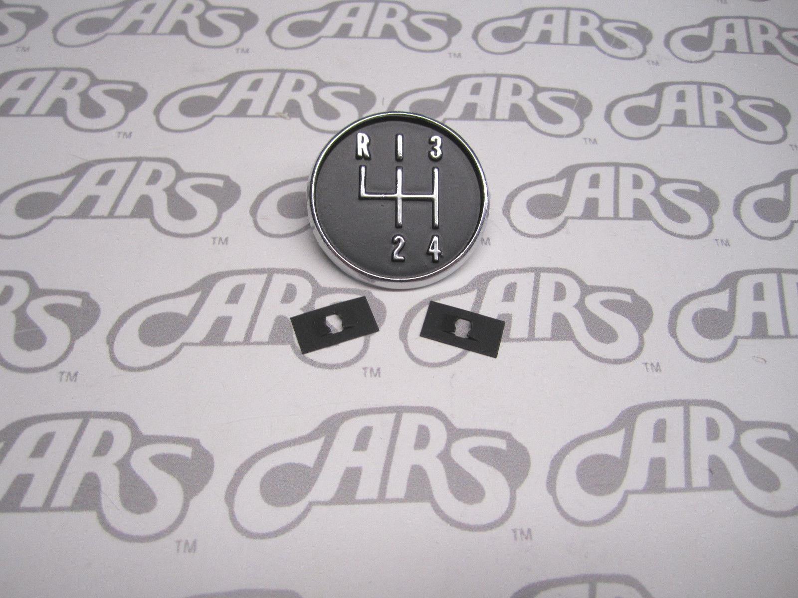 Buick 4 Speed Shift Pattern Plate