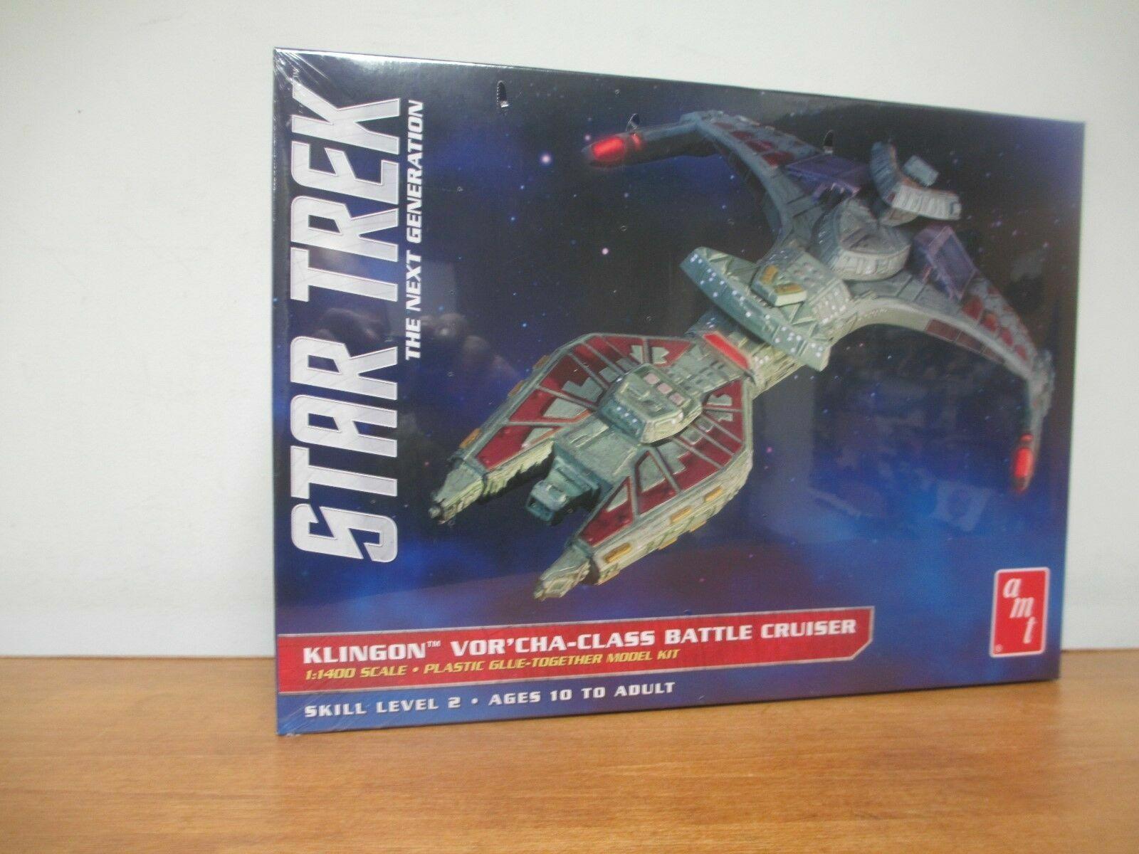 AMT ~ general hobby plastic models 1//1400 Star Trek Klingon Vor/'cha AMT1027